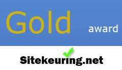 Sitekeuring.NET Award Golden Award  op 17 augustus 2011  Resultaten van test certificatie: Layout 8, Laadtijd 8, Gebruik van afbeeldingen 9, Scripting 10, Content 8, Total 43 punten, Award Gold