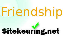 Sitekeuring.NET Friendship Award